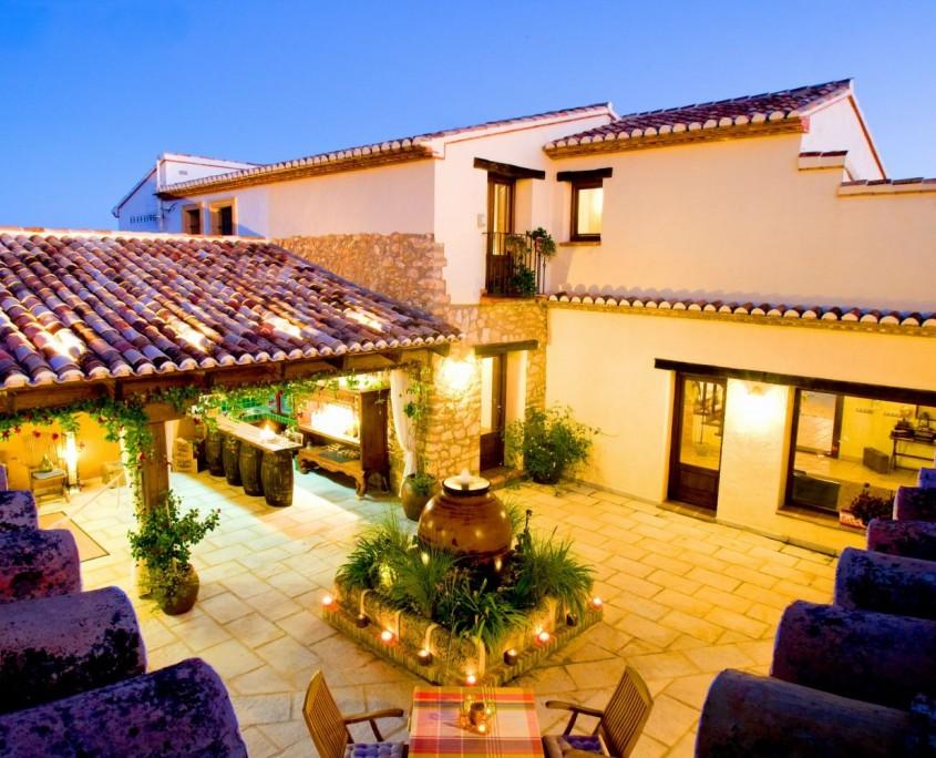 Finca style villas