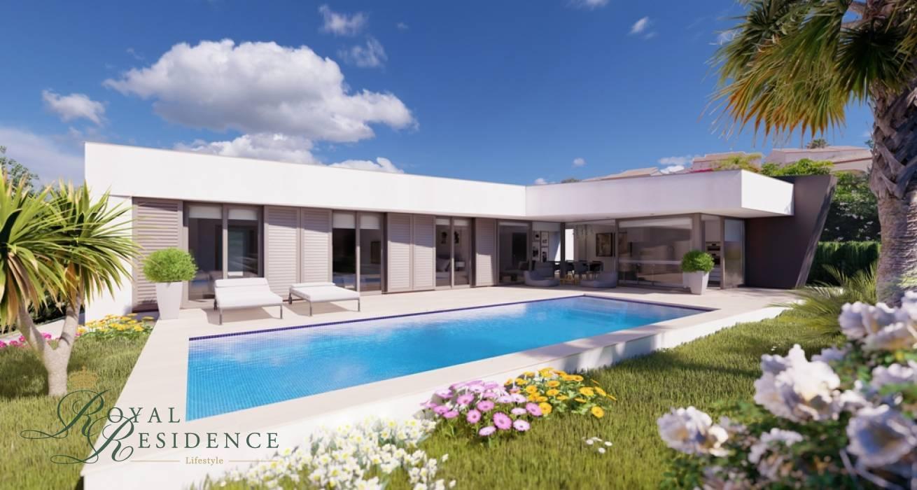 Modern project villa close to Benissa Costa