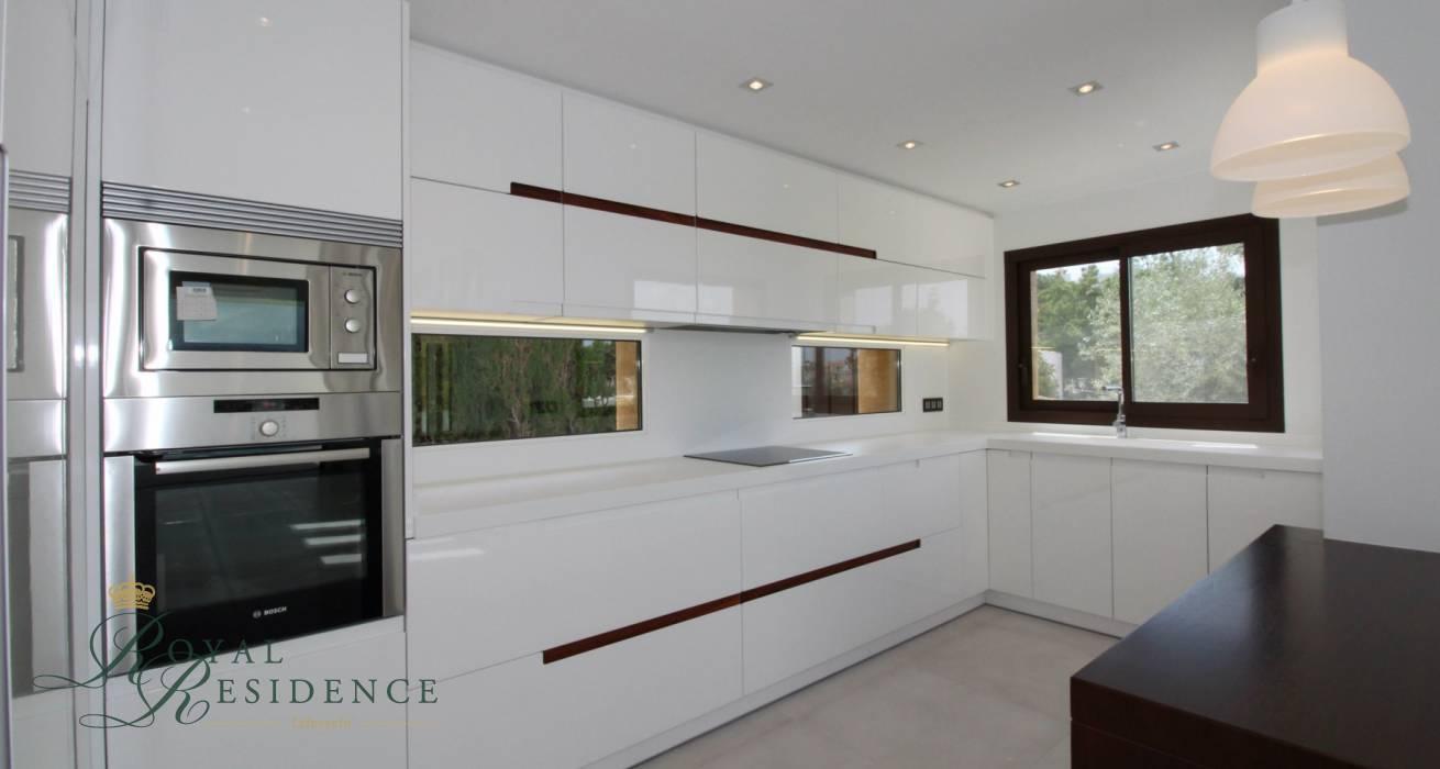 Newly built modern villa in Moraira