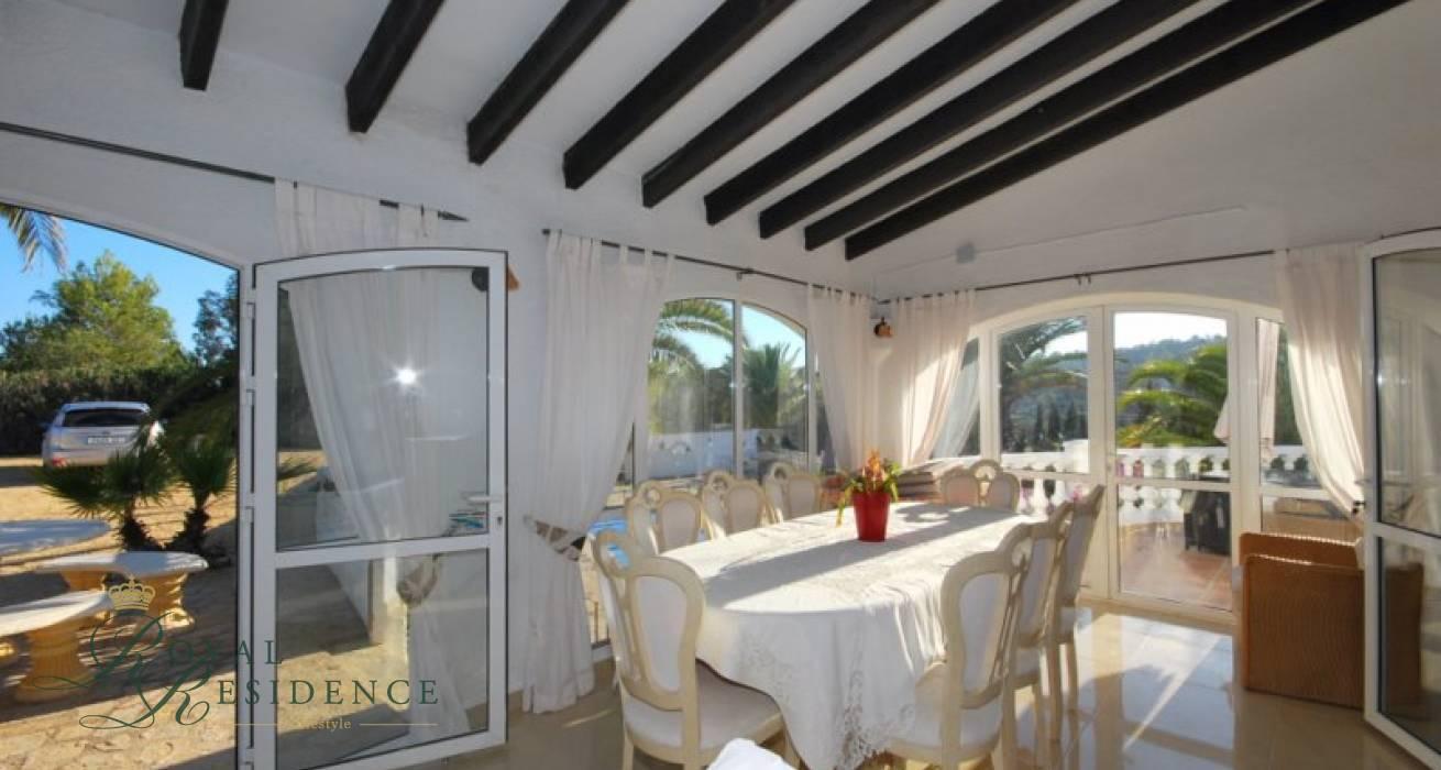 Large private villa in Benissa