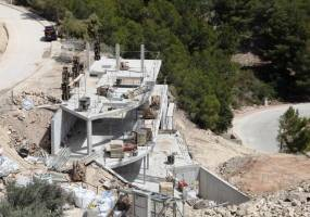 Villa under construction in Benissa