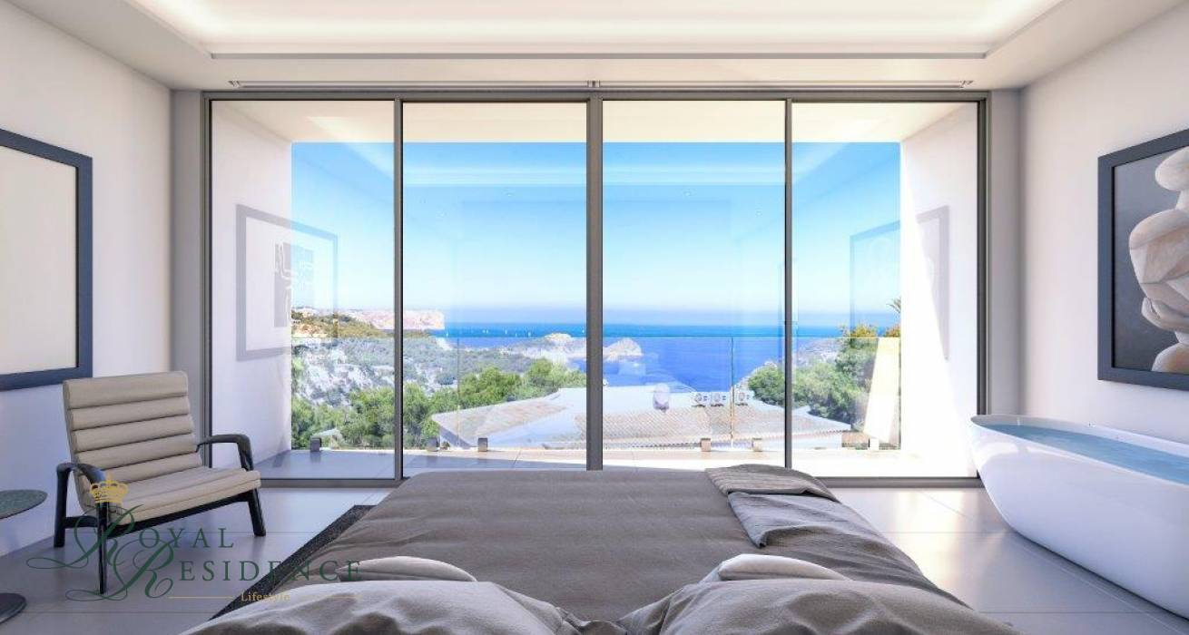 Key ready luxury villa in Javea