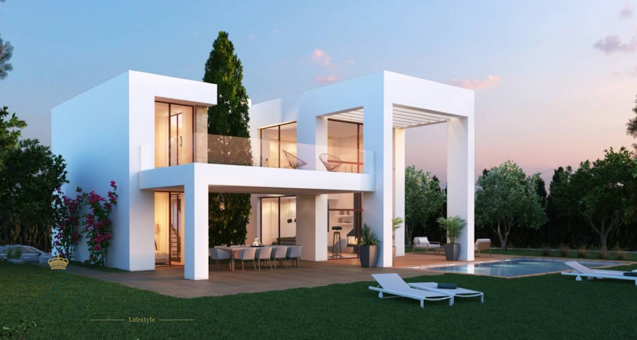 Villa under construction in Javea
