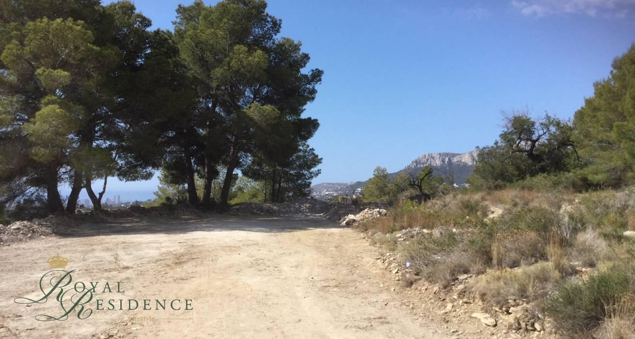 Off plan villa project in Benissa