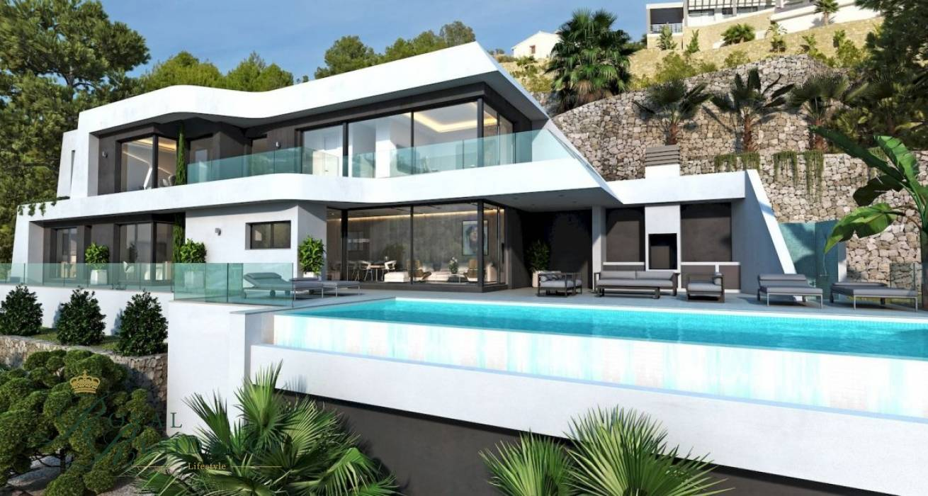 Villa project in Benissa Costa