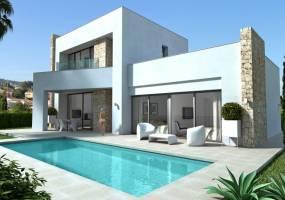 Villa project in Calpe