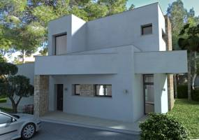 Villa project in Calpe