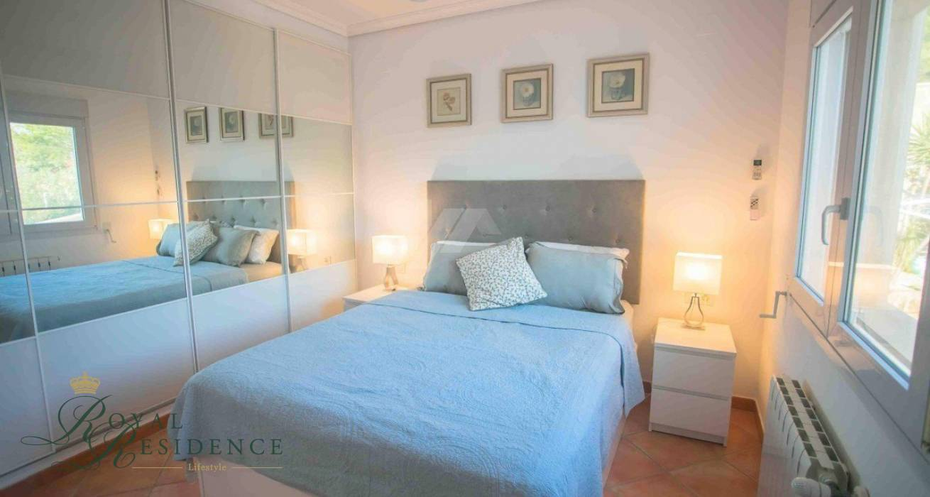 Reformed villa in Benissa