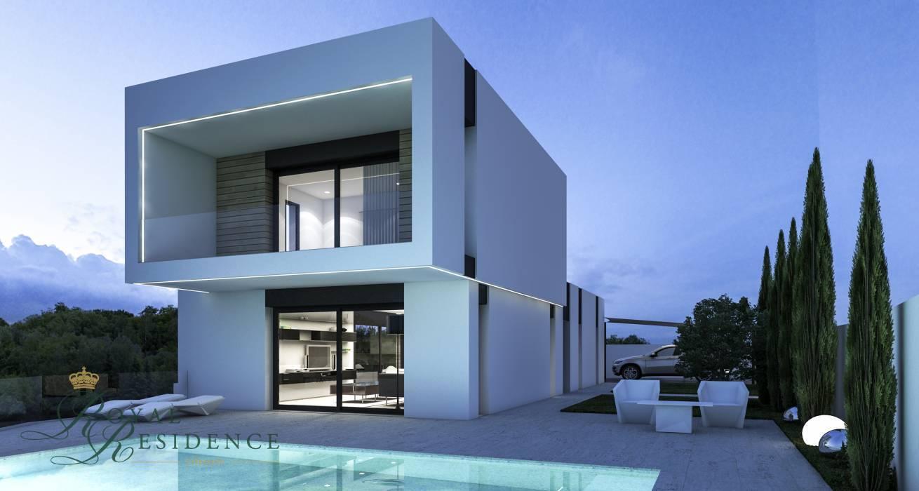 Modern villa to be built on Benissa Costa