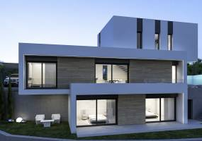 Modern villa to be built on Benissa Costa