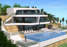 Modern luxury villa to be built in Benissa