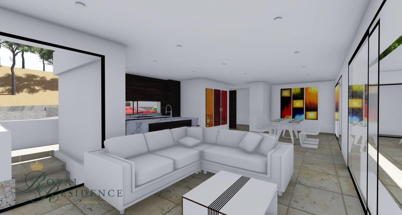 Project of 3 bedroom villa in Benitachell