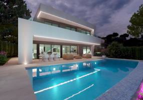 Modern luxury villa to be built in Moraira