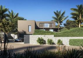 Luxury villa under construction in Moraira