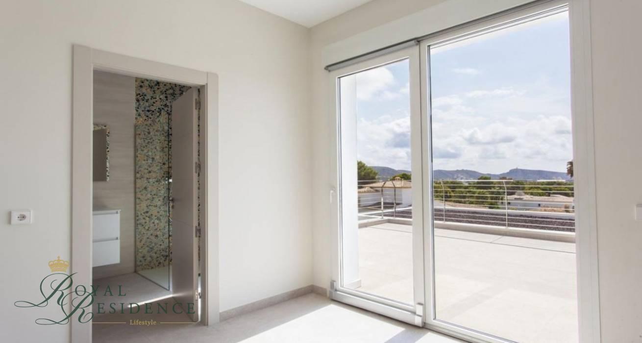 Newly built villa in Moraira