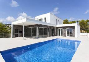 Newly built villa in Moraira