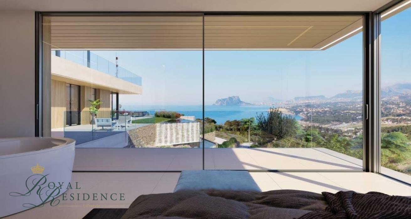 Luxury designer villa to be built in Moraira