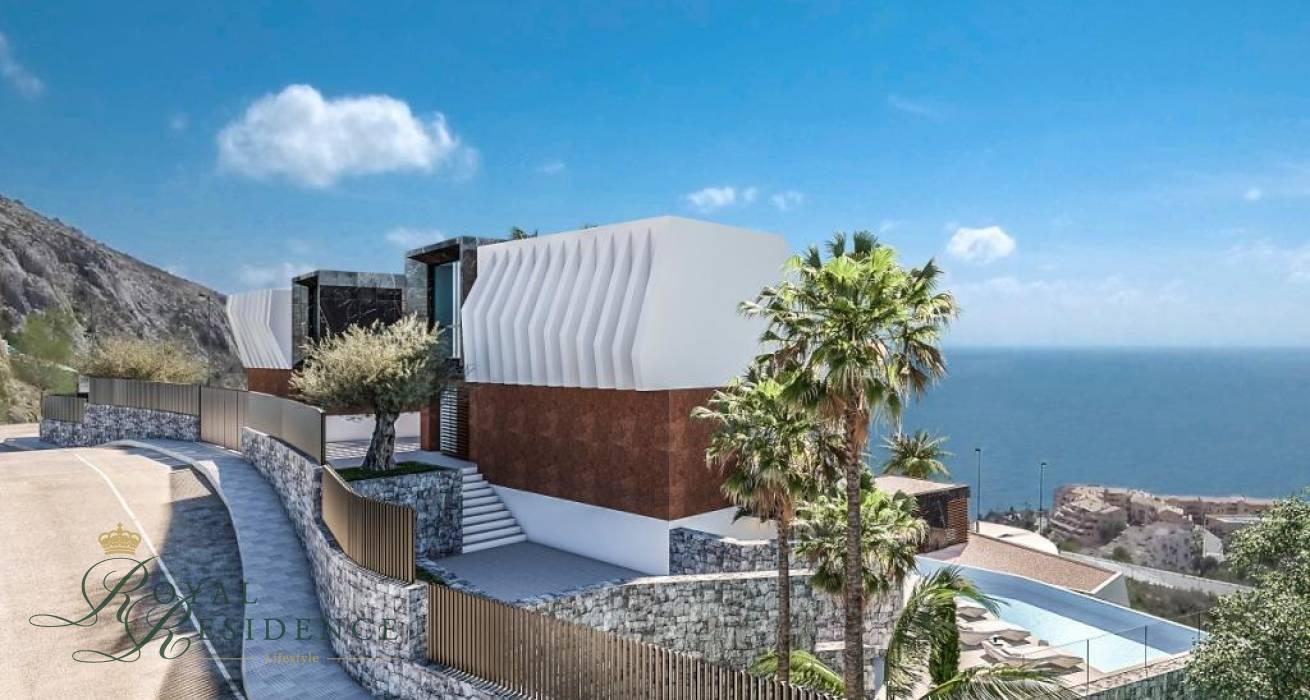 4 Luxury under construction in Altea