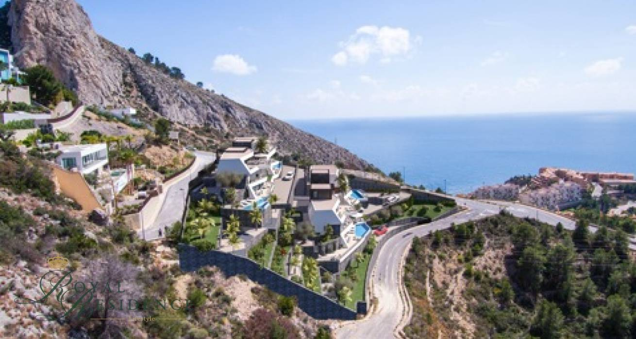 4 Luxury under construction in Altea